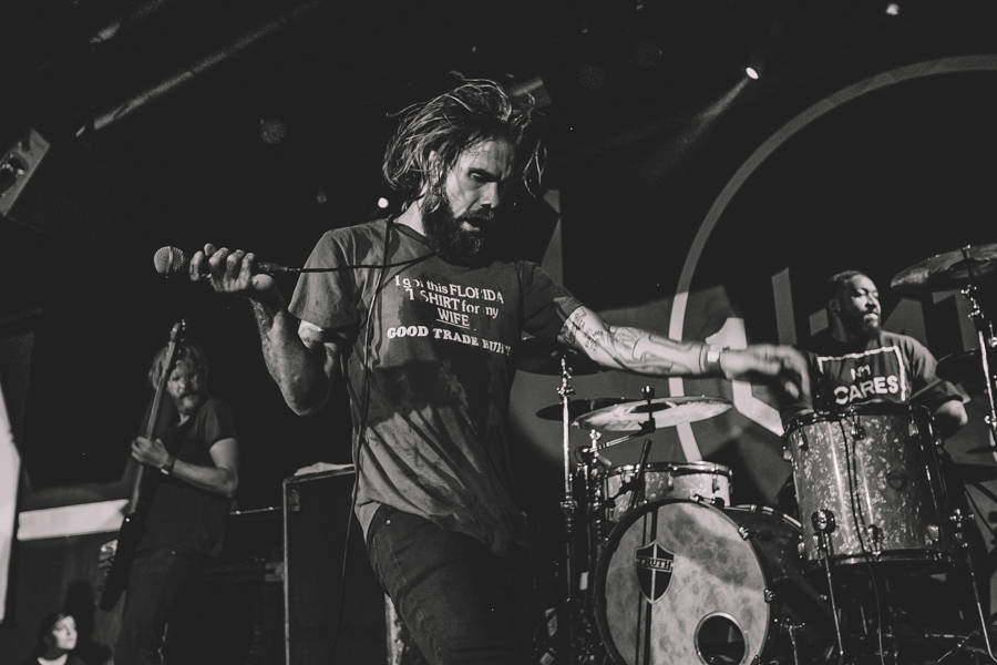 Jason Butler of letlive gives a great performance in Las Vegas